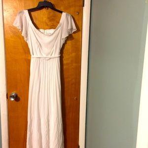 Bisou Bisou white off the shoulder maxi dress